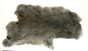 Natural Top Grade Rabbit Fur Pelt Skin Taxidermy~~brown