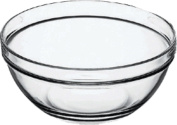 Duralex Clear Stacking Bowl (9 cm) Pack Of 6