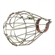 TOOGOO(R) Iron Wire Bulb Cage, Clamp On, Old Look, Vintage Lighting, Steampunk
