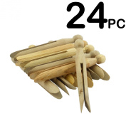 12PC Wooden Dolly Pegs - A Great Crafting Accessory