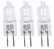 Pack of 12 Clear 5w G4 12v Halogen Capsule Bulbs / Lamps ~ 2000hrs ~ by electrosmart®