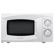 Daewoo KOR6L15 Manual Microwave Oven, 20 L, 700 W - White
