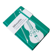 """My Music Gifts A6 """"Violin"""" Pocket Notebook, Teal"""