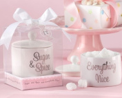 We Do FabGifts4u Sugar, Spice And Everything Nice - Ceramic Sugar Bowl