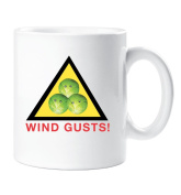 Wind Gusts Brussel Sprout Mug Funny Bovelty Christmas Stocking Filler Cup