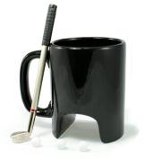 Golfer Mug with Mini Putter