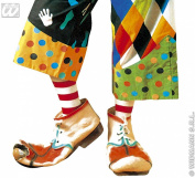 Latex Clown Shoes For Kids Accessory for Circus Fancy Dress