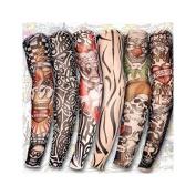 6 styles nylon stretch costume fake tattoo sleeve arm - Fancy Dress Stocking [version:x5.6] by DELIAWINTERFEL