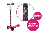 Personalised Maxi Micro T-Bar Scooter - Raspberry