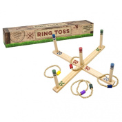 Professor Puzzle Wooden Ring Toss