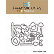 Paper Smooches Die-Natural Beauties Icons