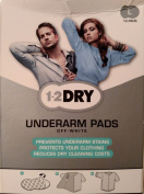 1-2Dry Underarm Pads Off-White Large