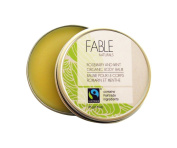 Fable Naturals All Natural Body Balm, Rosemary/Mint, 45ml