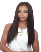 Janet Collection Unprocessed 100% Natural Virgin - Enhanced Brazilian Remy Weave (25cm , 1B - OFF BLACK) by Beauty Plus Trading