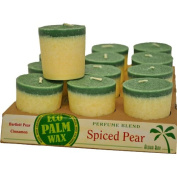 Aloha Bay Candle Votives Blended With Essential Oils - Spiced Pear, Case of 12 / 60ml