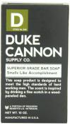 Duke Cannon Big American Brick of Soap, Black, Smells Like Accomplishment, Bergamot and Black Pepper, 300ml