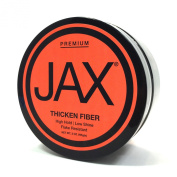 JAX Thickening Fibre. High hold. Low Shine. Flake Resistant
