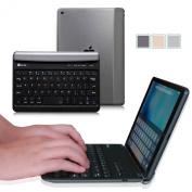 Fintie iPad mini 4 Keyboard Cover - Blade Z1 Ultra Slim [Multi-Angle] Wireless Bluetooth Keyboard (with Auto Wake / Sleep) for Apple iPad mini 4 Released on 2015, Space Grey