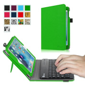 Fintie iPad mini 4 Keyboard Case - Premium PU Leather Folio Stand Cover with Removable Wireless Bluetooth Keyboard for Apple iPad mini 4 (2015 Release), Green