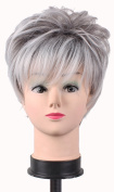 Short Curl Fashion Womens Wig Heat-resistant