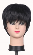 Diforbeauty Youngster and Mens Wig Short Staight Fluffy Style Heat-resistant