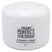 New Razac Perfect for Perms Finishing Creme Hairdressing & Scalp Conditioner 240ml