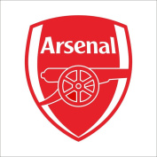 Fange DIY Removable Premier League Team Arsenal Logo Wall Stickers Bedroom Decor Livingroom Decal Sticker 70cm x 60cm