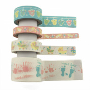 Valley Mall Scrapbooking DIY Christmas Baby Shower Decoration Art Washi Tape