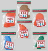 8ct Christmas Craft Foam Shapes