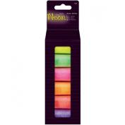 Papermania Neon Glitter 6/Pkg-