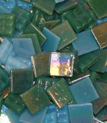 Hakatai Glass Mosaic Tile 1.6cm - ½ Pound Ocean Blend FBL06