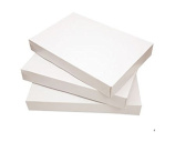 Premier Packaging Gezza Exceptional Apparel Decorative Gift Box, 14.25 by 24cm by 4.6cm , White