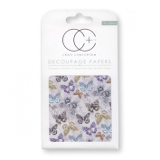 Craft Consortium Decoupage Printed Paper Pack of 3 - CP217 Hellen