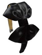 Sparkling Glitter Satin Bow Headband Funny Girl Designs