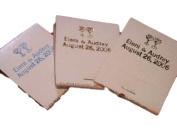 50 Personalised White Jacket Match Books Matches 30 Strike Matchbooks