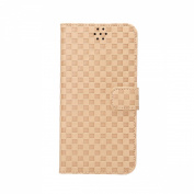 iPhone 6S Case, SAVYOU Grid Pattern Flip Case iPhone 6 Wallet Case Premium PU Protective Leather Stand Case with Card Holder for iPhone 6/6S 12cm