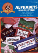 Looney Toones Alphabets in Cross Stitch Leaflet 3010 by Leisure Arts
