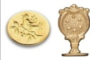 Brass Wax Seal Stamp -Songbird