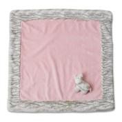 Nat and Jules Blanket and Zebra Rattle Set, Pink