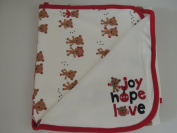 Joy Hope Love Holiday Blanket for Newborns