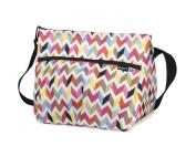 PackIt Baby Freezable Shoulder Bag for Bottles, Ziggy Print