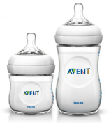 Philips Avent Natural Polypropylene 120ml & 270ml Bottle Twin Pack