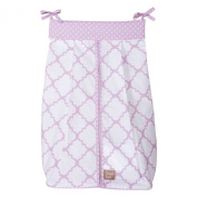 Trend Lab Orchid Bloom Nappy Stacker, Purple