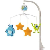 Disney Plush Sulley Soft Polyester Baby Monsters Character Lullaby Play Musical Nursery Mobile