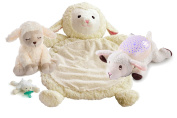 Little Lamb 4 Piece Soothe, Sleep and Play Baby's First Year Essentials