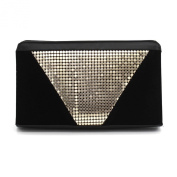 Kingluck Aluminium and Leatherette Evening Cluth Bag