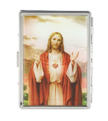 Jesus Christ Printed Card Holder / Storage Case / Business / Credit / ID / Wallet Case