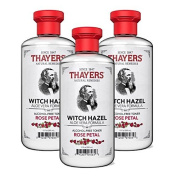 Thayers Alcohol-free Rose Petal Witch Hazel Toner (6 Pack) 350ml Bottles