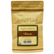 Just a Leaf Organic Tea Organic Herbal Tea, Hibiscus Organic Loose Leaf Tea