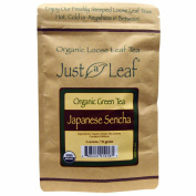 Just a Leaf Organic Tea Organic Green Tea, Japanese Sencha, 60ml